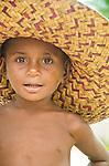 Boy in fetching hat, Lobo Village