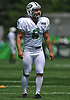 Taylor Bertolet #6 of the New York Jets gets ready to kick during team practice at the Atlantic Health Jets Training Center in Florham Park, NJ on Sunday, July 29, 2018.