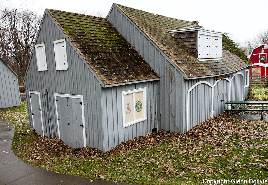 The carriage house construction project  at the Seaway Kiwanis Children's Animal Farm is expected to be completed by April.