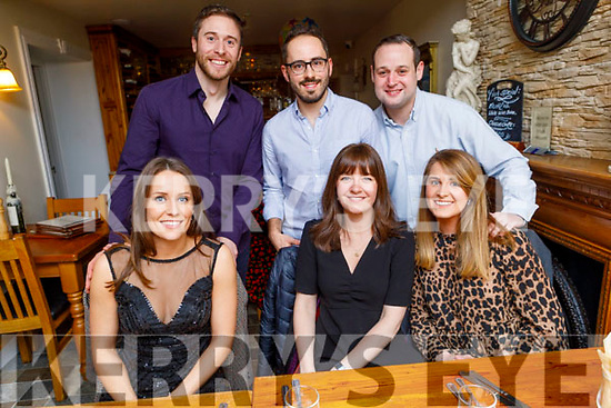 Enjoying the evening in Bella Bia on Saturday. Seated l to r: Michelle Breen, Jennifer Francony and Jilly O'Keeffe.<br /> Back l to r: Darren Hoare, Tim Francony and Chris Stewart.