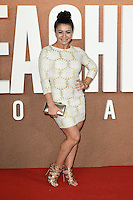 LONDON, UK. October 20, 2016: Claudia Fragapane at the premiere of &quot;Jack Reacher: Never Go Back&quot; at the Cineworld Empire Leicester Square, London.<br /> Picture: Steve Vas/Featureflash/SilverHub 0208 004 5359/ 07711 972644 Editors@silverhubmedia.com