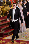 Secretary of Ciudadanos, Albert Rivera during the gala dinner given to the President of the Argentine Republic, Sr. Mauricio Macri and Sra Juliana Awada at Real Palace in Madrid, Spain. February 19, 2017. (ALTERPHOTOS/BorjaB.Hojas)