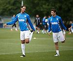 Bilel Mohsni and Luca Gasparotto