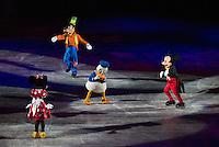 RIO DE JANEIRO, RJ, 21.05.2015 - ESPETÁCULO-DISNEY - Estreia a temporada do espetáculo Disney On Ice no HSBC Arena, na zona oeste, nesta quinta-feira (21). (Foto: João Mattos / Brazil Photo Press)