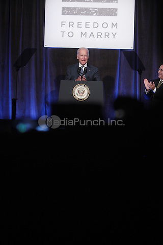 New York, NY- July 9- United States Vice President Joe Biden attends ' Freedom to Marry National Victory Celebration' held at Cipriani Wall Street on July 9, 2015 in New York City. Terrence Jennings/ /MediaPunch