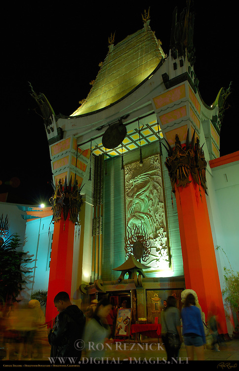 Chinese Theatre, Hollywood Boulevard, Hollywood, California