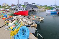 Fishing village<br /> Peggy's Cove<br /> Nova Scotia<br /> Canada