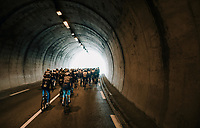 tunnel vision<br /> <br /> 76th Paris-Nice 2018<br /> stage 6: Sisteron &gt; Vence (198km)