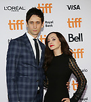 Mark Leslie Ford and Ksenia Solo attend the 'Suburbicon' premiere during the 2017 Toronto International Film Festival at Princess of Wales Theatre on September 9, 2017 in Toronto, Canada.