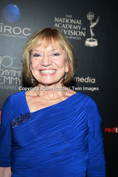 Kay Alden attends The 40th Annual Daytime Emmy Awards on<br />  June 16, 2013 at the Beverly Hilton Hotel in Beverly Hills, California.