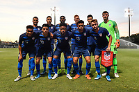 Miami, FL - Tuesday, October 15, 2019: Starting XI during a friendly match between the USMNT U-23 and El Salvador at FIU Soccer Stadium.