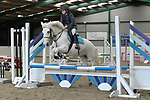 Class 1. 70cm Open. British Showjumping juniors. Brook Farm training centre. Essex. 07/10/2017. MANDATORY Credit Garry Bowden/Sportinpictures - NO UNAUTHORISED USE - 07837 394578