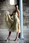 Nokia Connecting with the future of Irish Fashion at the launch of the Nokia Young Fashion Desighner Award 2006 at CHQ. Model Irma is pictured wearing a Joanne Hynes from her latest collection, who along with John Rocha will judge the Nokia Young Designer Award 2006. Pic Robbie Reynolds