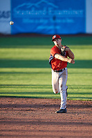 Cole Taylor (29) of the Orem Owlz during the game against the Ogden Raptors at Lindquist Field on June 19, 2018 in Ogden, Utah. The Raptors defeated the Owlz 7-2. (Stephen Smith/Four Seam Images)