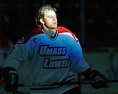 Shayne Thompson (UML - 7) - The University of Massachusetts-Lowell River Hawks defeated the University of Alabama-Huntsville Chargers 3-0 on Friday, November 25, 2011, at Tsongas Center in Lowell, Massachusetts.