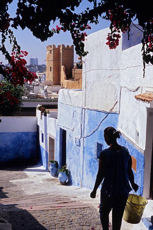 Casbah des Oudaïas, Rabat, Morocco, 2008