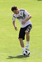 Sebastian Rudy (Deutschland Germany) - 28.05.2018: Training der Deutschen Nationalmannschaft zur WM-Vorbereitung in der Sportzone Rungg in Eppan/Südtirol