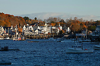 Autumn Light, Boothbay Harbor