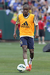 22 May 2013:  Ramires (7)(BRA) of Chelsea.  Chelsea F.C. practice session in preparation for an exhibition match against Manchester City at Busch Stadium in Saint Louis, Missouri.