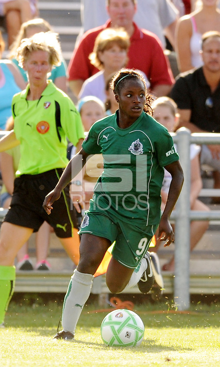 Eniola Aluko..Saint Louis Athletica tied 1-1 with F.C Gold Pride, at Anheuser-Busch Soccer Park, Fenton, Missouri.