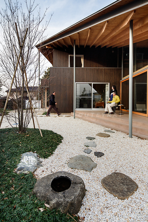 Chiba, February 1st 2014 - House in Chiba by Suppose Design Office.