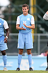 15 August 2014: North Carolina's Rob Lovejoy. The University of North Carolina Tar Heels hosted the Gardner-Webb University Bulldogs at Fetzer Field in Chapel Hill, NC in a 2014 NCAA Division I Men's Soccer preseason match. North Carolina won the exhibition 7-0.