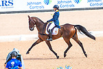 Alice Naber-Lozeman. ACSI Harry Belafonte. NED. Eventing Dressage. Day 3. World Equestrian Games. WEG 2018 Tryon. North Carolina. USA. 13/09/2018. ~ MANDATORY Credit Elli Birch/Sportinpictures - NO UNAUTHORISED USE - 07837 394578