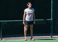 AMELIE MAURESMO (FRA)<br /> <br /> Tennis - BNP PA mier -  Indian Wells Tennis Garden - Indian Wells - California - United States of America  - 9 March 2015. <br /> &copy; AMN IMAGES