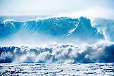USA, Hawaii, Oahu, Ramon Navarro Waimea bay, Eddie Aikau surf competition, North Shore