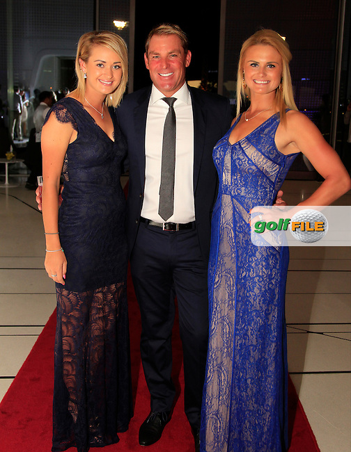 during the 2015 Abu Dhabi Invitational Gala Evening held at The Viceroy Hotel, Yas Island, Abu Dhabi.: Picture Eoin Clarke, www.golffile.ie: 1/25/2015