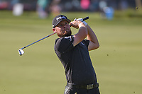 Tyrrell Hatton (ENG) watches his approach shot on 1 during round 3 of the Arnold Palmer Invitational at Bay Hill Golf Club, Bay Hill, Florida. 3/9/2019.<br /> Picture: Golffile | Ken Murray<br /> <br /> <br /> All photo usage must carry mandatory copyright credit (&copy; Golffile | Ken Murray)