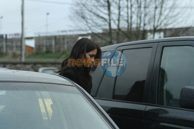 Andrea Roche leaves Navan Hospital after visiting Katy French...Photo NEWSFILE/Jenny Matthews.(Photo credit should read Jenny Matthews/NEWSFILE)....This Picture has been sent you under the condtions enclosed by:.Newsfile Ltd..The Studio,.Millmount Abbey,.Drogheda,.Co Meath..Ireland..Tel: +353(0)41-9871240.Fax: +353(0)41-9871260.GSM: +353(0)86-2500958.email: pictures@newsfile.ie.www.newsfile.ie.FTP: 193.120.102.198.