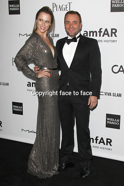 Tatiana Fontes and Matheus Mazzafera at amfAR's Inspiration Gala at Milk Studios on October 11, 2012 in Los Angeles, California. ..Credit: MediaPunch/face to face..- Germany, Austria, Switzerland, Eastern Europe, Australia, UK, USA, Taiwan, Singapore, China, Malaysia and Thailand rights only -