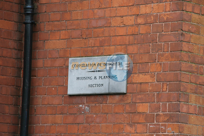 Corporation of Drogheda Housing and Planning Section which was destroyed by fire last night.  A technical exaimination will take place to determine the cause of the fire....Photo NEWSFILE/Jenny Matthews.(Photo credit should read Jenny Matthews/NEWSFILE)....This Picture has been sent you under the condtions enclosed by:.Newsfile Ltd..The Studio,.Millmount Abbey,.Drogheda,.Co Meath..Ireland..Tel: +353(0)41-9871240.Fax: +353(0)41-9871260.GSM: +353(0)86-2500958.email: pictures@newsfile.ie.www.newsfile.ie.FTP: 193.120.102.198.