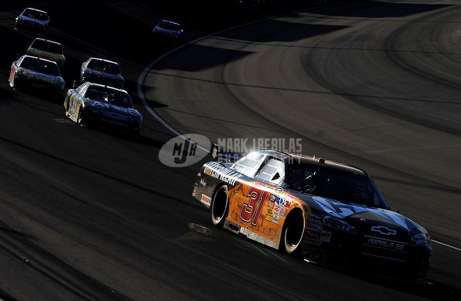 Mar. 1, 2009; Las Vegas, NV, USA; NASCAR Sprint Cup Series driver Jeff Burton (31) during the Shelby 427 at Las Vegas Motor Speedway. Mandatory Credit: Mark J. Rebilas-