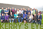 LAUNCHING: The Kilmoyley Club members who launched the Kilmoyley..Hurling Club 5year plan on Sunday at Pairc Naomh Erc, Lerrig. Seated..front l-r: Jerry Horan, Mika Flaherty, Maurice Fitzgerald, Julie..O'Connor, Fintan Ryan (chairman), Aine Crowe, Gerard and Mairead..Carroll, Kevin O'Sullivan and Flor McCarthy. Back l-r: Tom Godley, Ray..Monahan, Padraig Regan, John Fitzgerald, Tom Meehan, Mick Regan, Ian..Brick, Mike Lynch, Pat Griffin, Gerard Collins, Nicky Cooke, John..Godley, Agnes Godley, John Martin Brick and Mary Brick.
