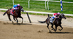 June 8, 2019 : #2, Midnight Bisou, ridden by jockey Mike Smite, wins the Ogden Phipps Stakes on Belmont Stakes Festival Saturday at Belmont Park in Elmont, New York. John Voorhees/Eclipse Sportswire/CSM