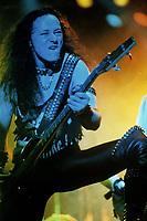 Venom performs at The Aragon Ballroom in Chicago, Illinois. May, 5th, 1985 <br /> CAP/MPI/GA<br /> &copy;GA/MPI/Capital Pictures