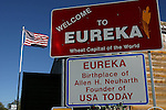 EUREKA, SD - OCTOBER 10, 2007:  Eureka, SD is the birthplace of Al Neuharth, founder of USA Today and the Freedom Forum. Neuharth passed away April 19, 2013 and will be buried in the cemetery in Eureka. (Photo by Dave Eggen/Inertia/Freedom Forum)