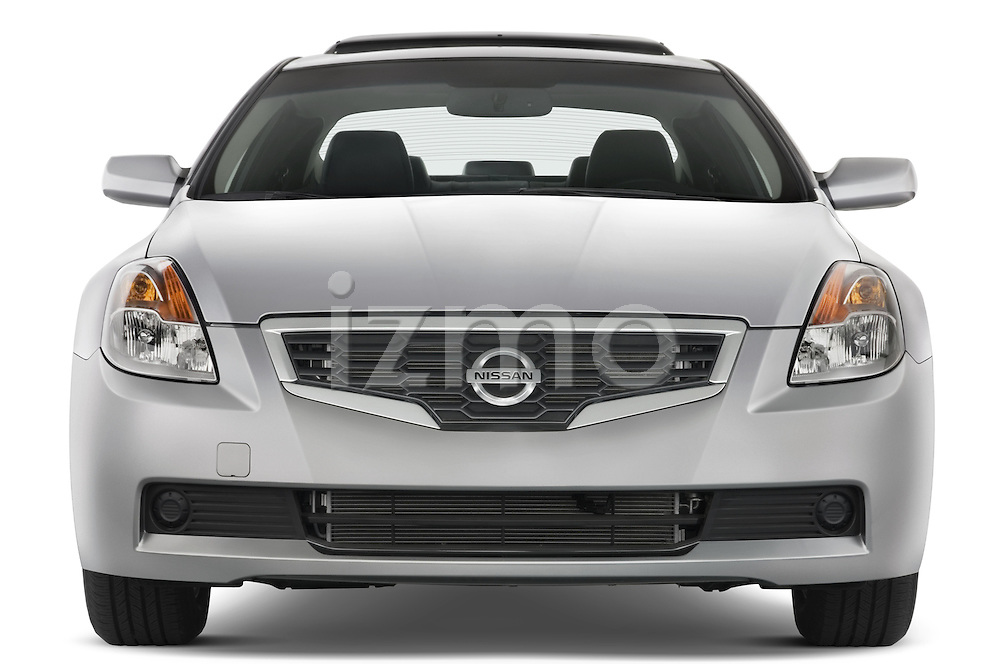 Straight front view of a 2008 Nissan Altma Coupe