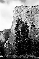 El Capitan, Yosemite  35mm image on Ilford Delta 100 film