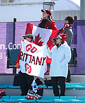 Pyeongchang, Korea, 13/3/2018- competes in the biathlon during the 2018 Paralympic Games in PyeongChang. Photo Scott Grant/Canadian Paralympic Committee.