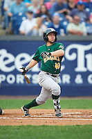 Lynchburg Hillcats right fielder Bobby Ison (40) at bat during a game against the Wilmington Blue Rocks on June 3, 2016 at Judy Johnson Field at Daniel S. Frawley Stadium in Wilmington, Delaware.  Lynchburg defeated Wilmington 16-11 in ten innings.  (Mike Janes/Four Seam Images)