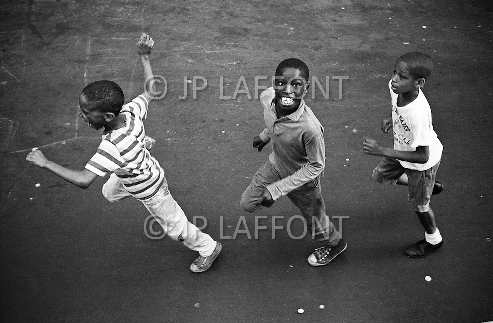Manhattan, New York City, NY. July 1966. <br />