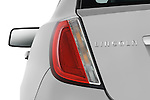 Tail light close up detail view of a 2010 Lincoln MKS FWD