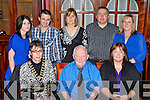 Enjoying the Kerry Community Games annual awards ceremony in the River Island Hotel on Friday front row l-r: Deirdre Courtney Ardfert/Kilmoyley, Vincent Murphy Castleisland, Colleen Sheilds Ardfert. Back row: Elaine Roche Brosna, Anthony Dennehy Beaufort, Theresa Ardfert/Kilmoyley and John and Sue Brosnan Ballymac....
