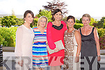 BBQ: Having a great at the Kerry Cancer Support Group Big Bus BBQ in association with Tralee Rugby Club at the Ballygarry House Hotel and Spa on Friday l-r: Kathrina Walsh, Eileen O'Sullivan, Norma Walsh, Sharon Costelloe and Susan Sugrue