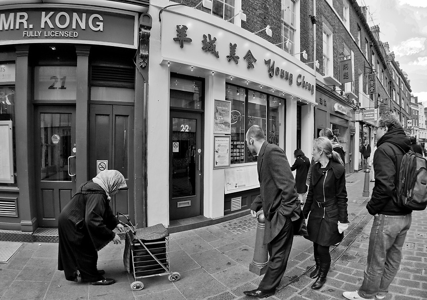 Londyn, 2009-03-05. Chińska dzielnica, Soho