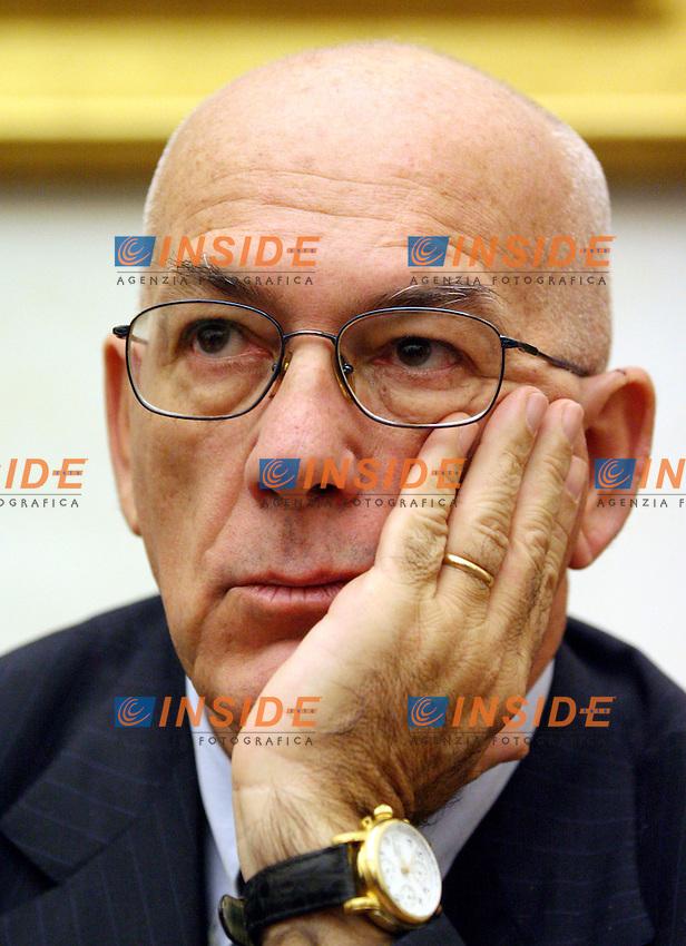 Roma 14-11-2006 :Conferenza stampa della Margherita per presentare il convegno dal titolo &quot;Patriottismo dolce&quot;.<br /> Nella foto Antonello Soro<br /> Photo Serena Cremaschi Inside (www.insidefoto.com)
