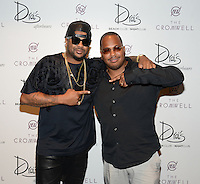 LAS VEGAS, NV - June 8: The-Dream & Tricky Stewart Launch Contra Paris Sundays at Drai's Beach Club & Nightclub on June 8, 2014 in Las Vegas, Nevada. © GDP Photos/ Starlitepics